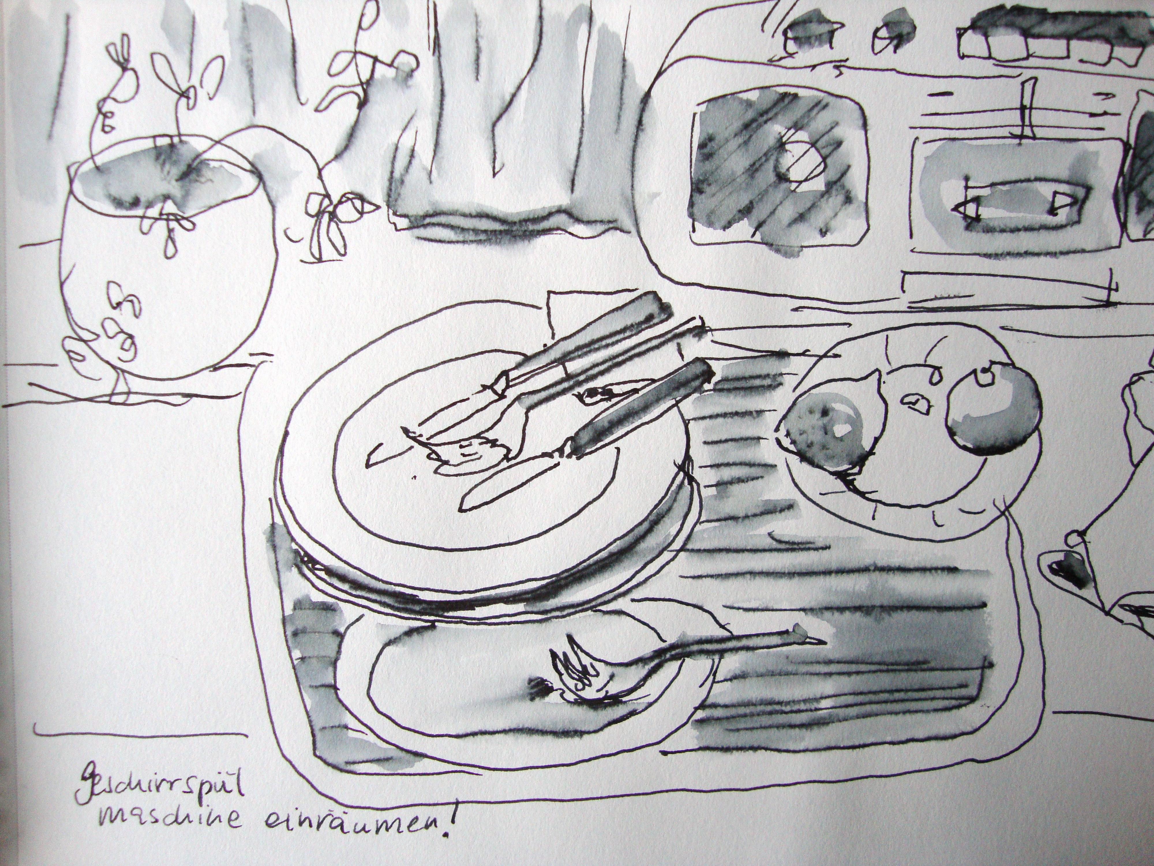 k che aufr umen oder doch lieber zeichnen zeichnen mit martina wald. Black Bedroom Furniture Sets. Home Design Ideas