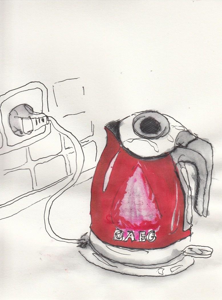 Wasserkocher – Die roten Dinge in meinem Leben, Teil 5