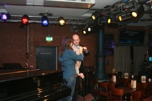 Martin und Martina auf der Bühne