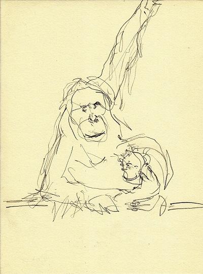 orang utan - klein