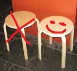 Hocker - Smiley